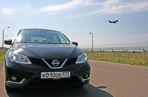 Тест-драйв «вне очереди»: Nissan Tiida CVT