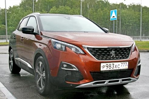 Тест-драйв: Peugeot 3008 (GT Line)