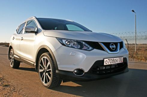 Тест-драйв: Nissan Quashqai New