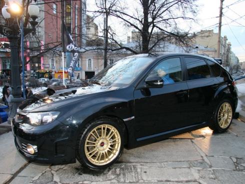 Автомобиль Subaru Impreza WRX STI в новом фильме «Форсаж 4».
