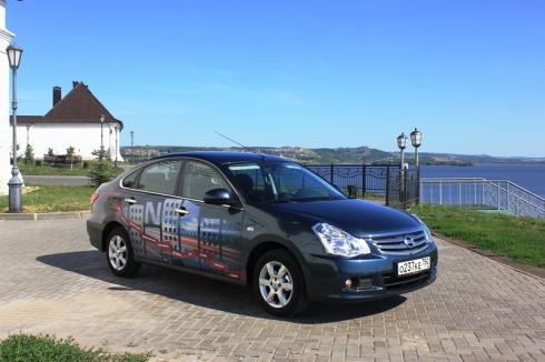 Тест драйв Nissan Almera new в Казани