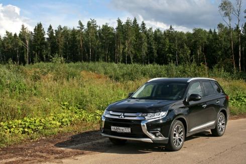 Тест-драйв: Mitsubishi Outlander (2.4 CVT)