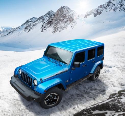 Jeep® представляет новую модель Jeep Wrangler Polar 2014 в России