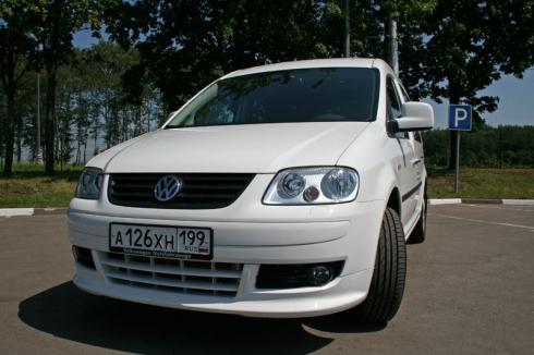 Тест-драйв: Volkswagen Caddy Maxi Life EcoFuel