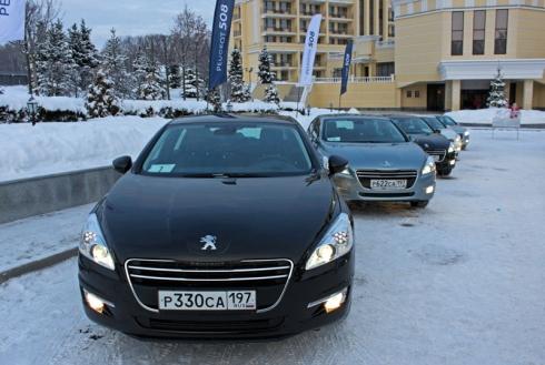 Peugeot 508 уже в России!