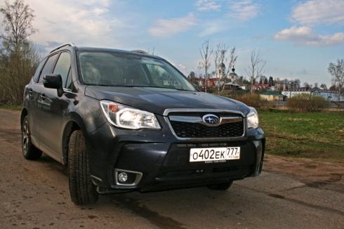 Майское путешествие Москва-Мышкин – вместе с Subaru Forester XT