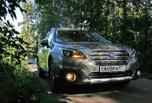 Тест-драйв: Subaru Outback 2,5 CVT
