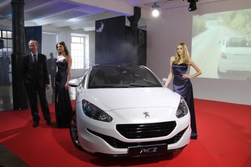 Peugeot Россия сообщает о ценах и комплектации обновленного Peugeot RCZ
