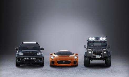 Компания Jaguar Land Rover – официальный партнер 24-го фильма  о Джеймсе Бонде