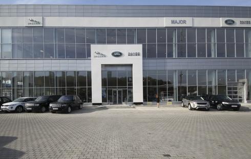 Компания Jaguar Land Rover открывает новый дилерский центр Major