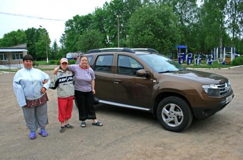 Благотворительная поездка в Шуйский интернат – вместе с Renault Duster