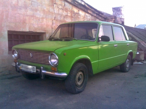 Зеленая машина. Сочинение взрослого человека.