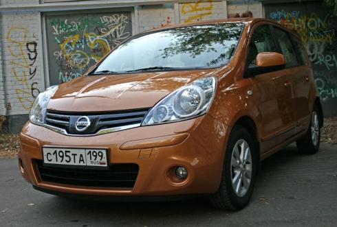 Тест-драйв: Nissan Note