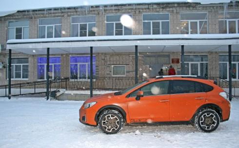 Благотворительная поездка в Шуйский интернат вместе с Subaru XV