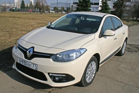 Тест-драйв «вне очереди»: Renault Fluence 1.6 CVT new