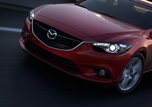 Мировая премьера седана Mazda 6 состоится на Московском Автосалоне  2012