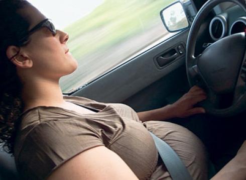 Будущая мама за рулем. Есть мнение...