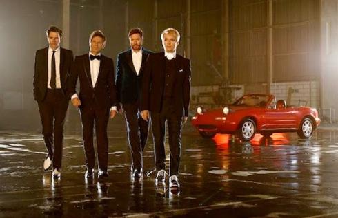 Duran Duran приняли участие в премьере новой Mazda MX-5