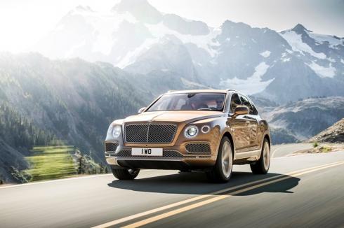 Bentley Bentayga - самый необычный SUV в мире!