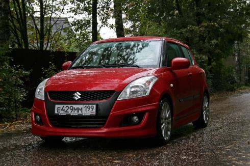 Тест-драйв «вне очереди»: Suzuki Swift 5D 4AT