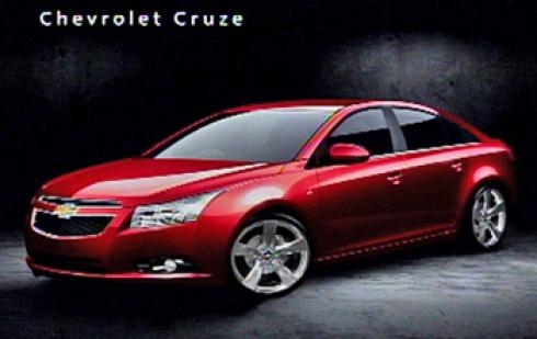 Начало продаж Chevrolet Cruze – автомобиля, который меняет правила