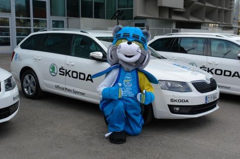 Новая ŠKODA Octavia Combi – официальный автомобиль 77-го Чемпионата мира по хоккею