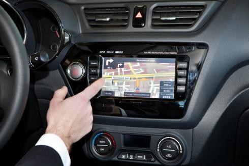 3D навигация на русском языке для нового Kia Rio