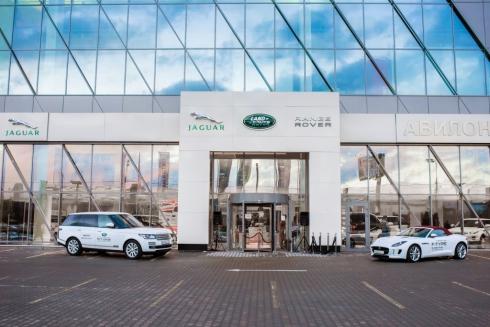 Jaguar Land Rover открывает новый дилерский центр в Москве