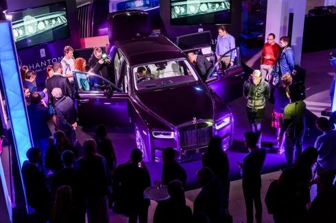 Rolls-Royce Phantom дебютировал в России
