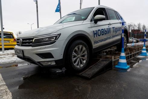 «Фольксваген Центры АВТОРУСЬ» представили НОВЫЙ Volkswagen Tiguan