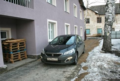 Весенняя поездка в Новольвоский Приют вместе с Peugeot 408