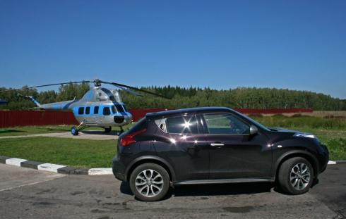 В Мелихово и Талеж – на Nissan Juke Shiro