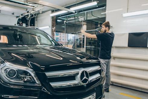 SPA для авто: решения Kärcher для взыскательных автовладельцев