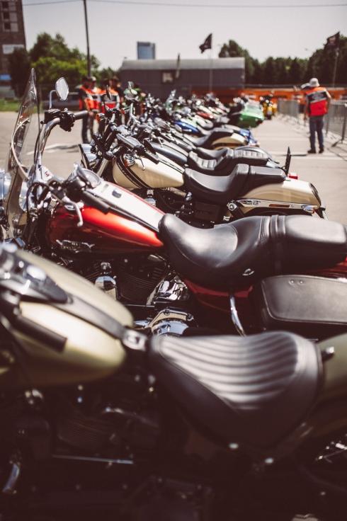 Летний тест-райд «Москва Harley-Davidson»