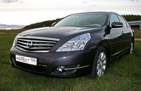 Тест-драйв от главного редактора: Nissan Teana 4WD