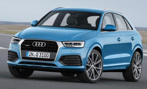 Audi объявляет о старте продаж обновленного семейства Audi Q3 в России