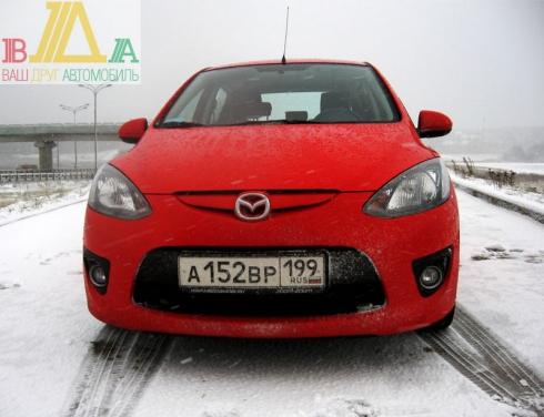 Mazda 2 MT тест-драйв журнала «ВАШ ДРУГ - АВТОМОБИЛЬ».