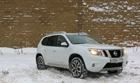 Тест-драйв: Nissan Terrano (2.0 4WD МКПП)