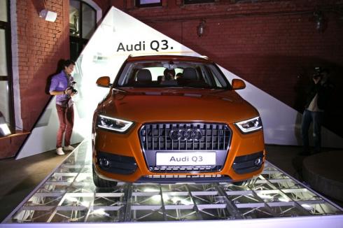 Audi Q3 – новый компактный SUV премиум-класса