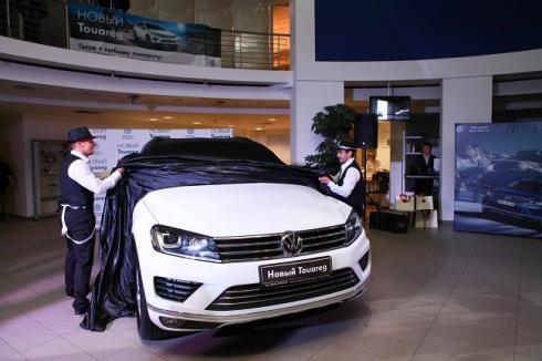 Авто-Престус презентовал обновленный Volkswagen Touareg 2015