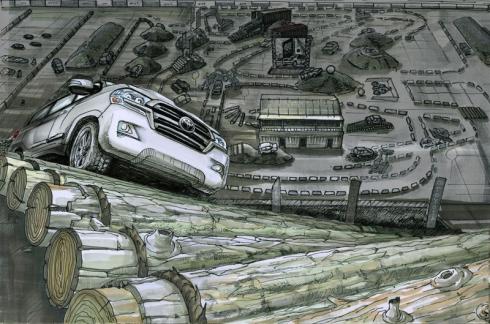 Toyota приглашает в Land Cruiser's Land