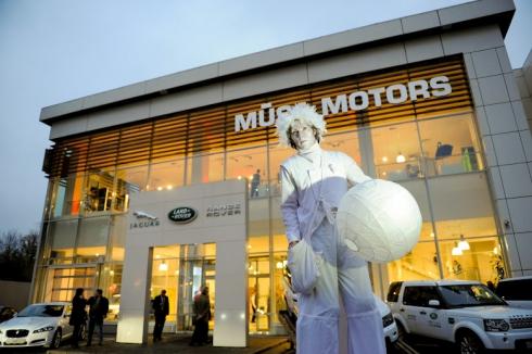 Компания Jaguar Land Rover открывает новый дилерский центр в Балашихе