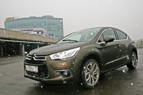 Тест-драйв Citroen DS4 (1.6 AT)