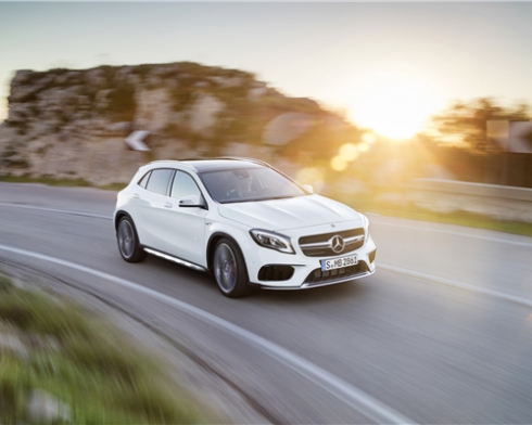 Новый Mercedes-Benz GLA