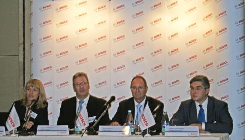 Компания Bosch: Ежегодная пресс-конференция в Москве