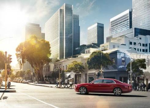 Новый Bentley Flying Spur V8S теперь в России