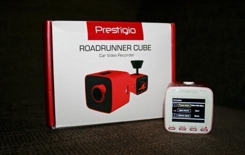 Обзор: видеорегистратор Prestigio RoadRunner CUBE